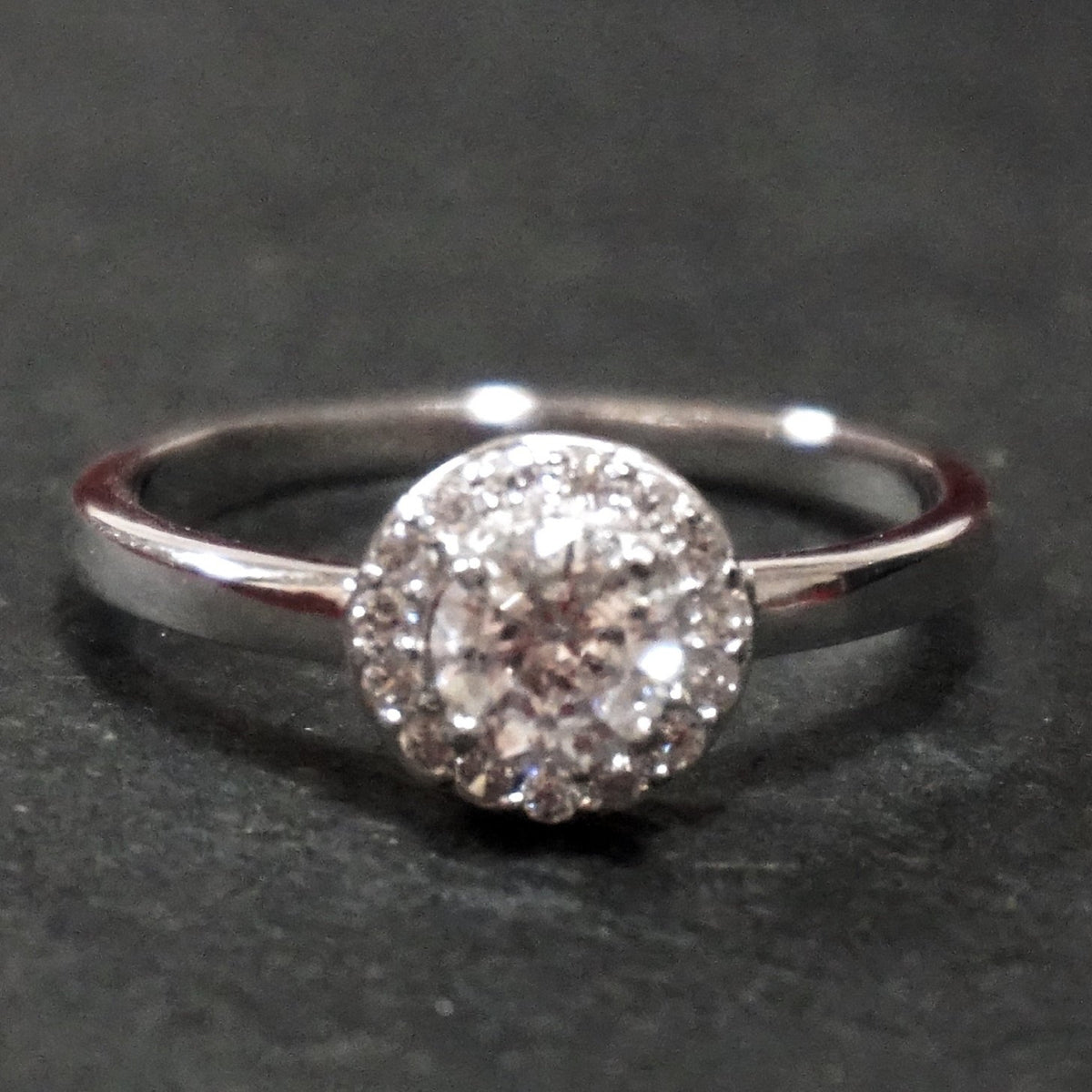 New Cubic Zirconia Handmade 14k Layer On 925 Sterling Silver Simple Cu 3 Royal Dazzy