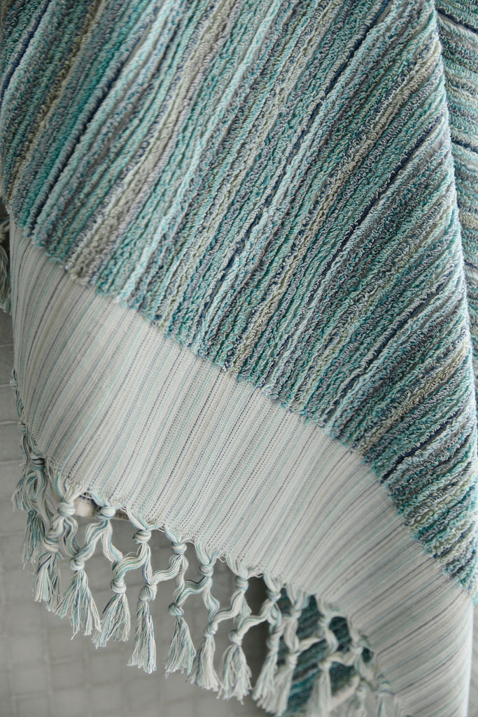 Ocean Stripe, Bath Towel