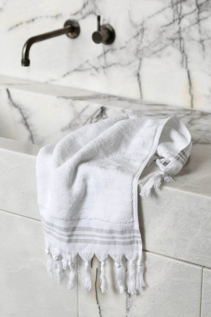 White Plush, Hand Towel