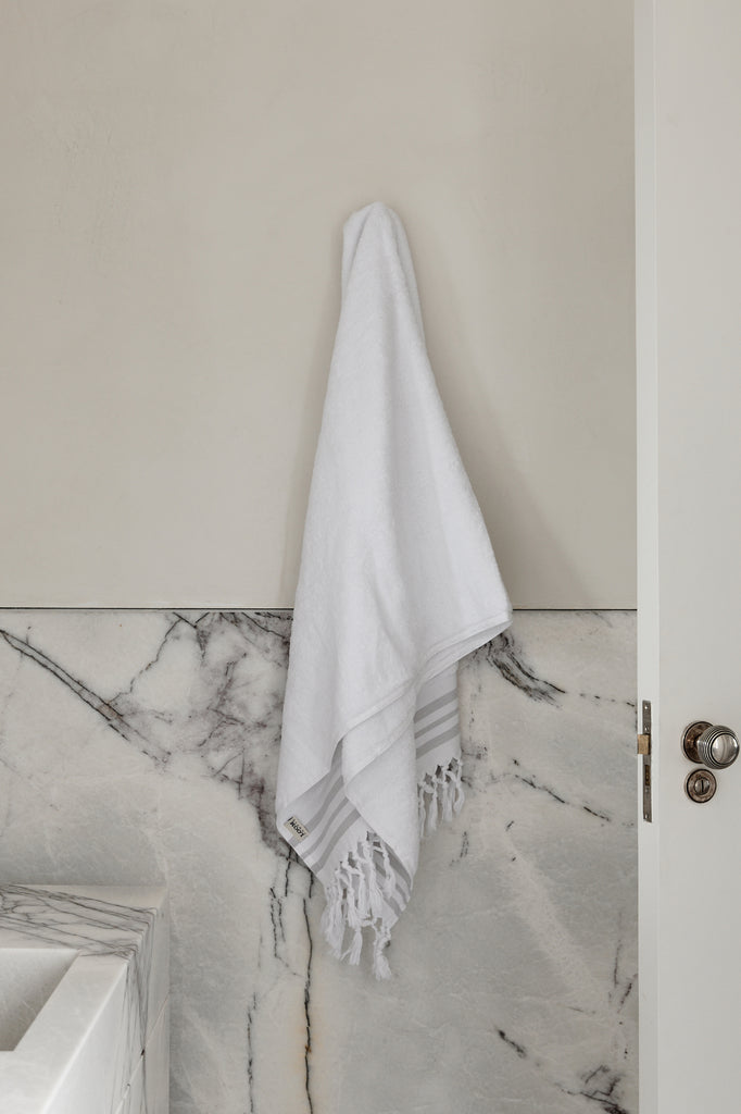 White Plush, Medium Bath Towel