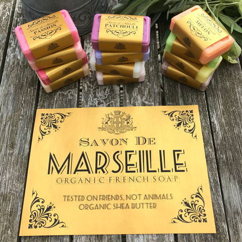 Savon de Marseille French Natural Soap with Organic Shea Butter