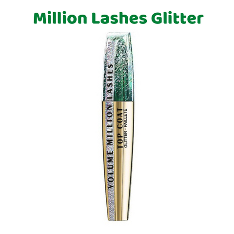 L'Oreal Volume Million Lashes Glitter Transparent Gel Top Coat Mascara
