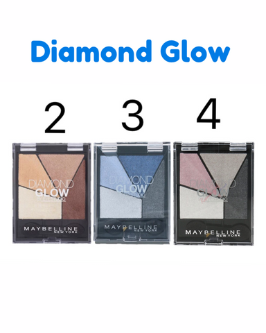 Maybelline Diamond Glow Eyeshadow Quad Palette