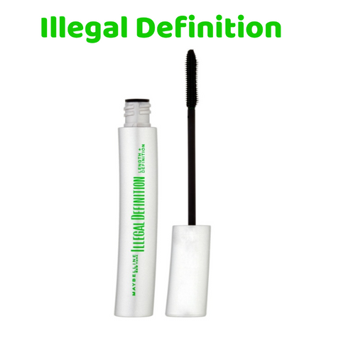 Maybelline Illegal Definition Mascara - Glossy Black