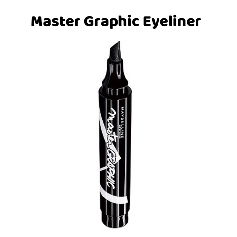 Maybelline Master Graphic Bold Liquid Marker Eyeliner - Black