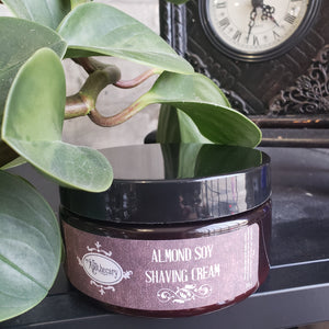 Almond Soy Shaving Cream