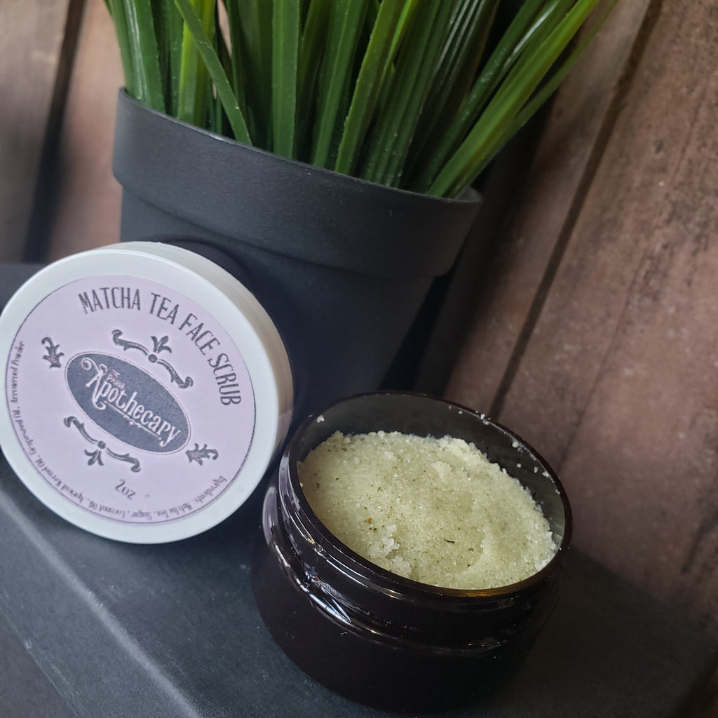 Matcha Tea Face Scrub