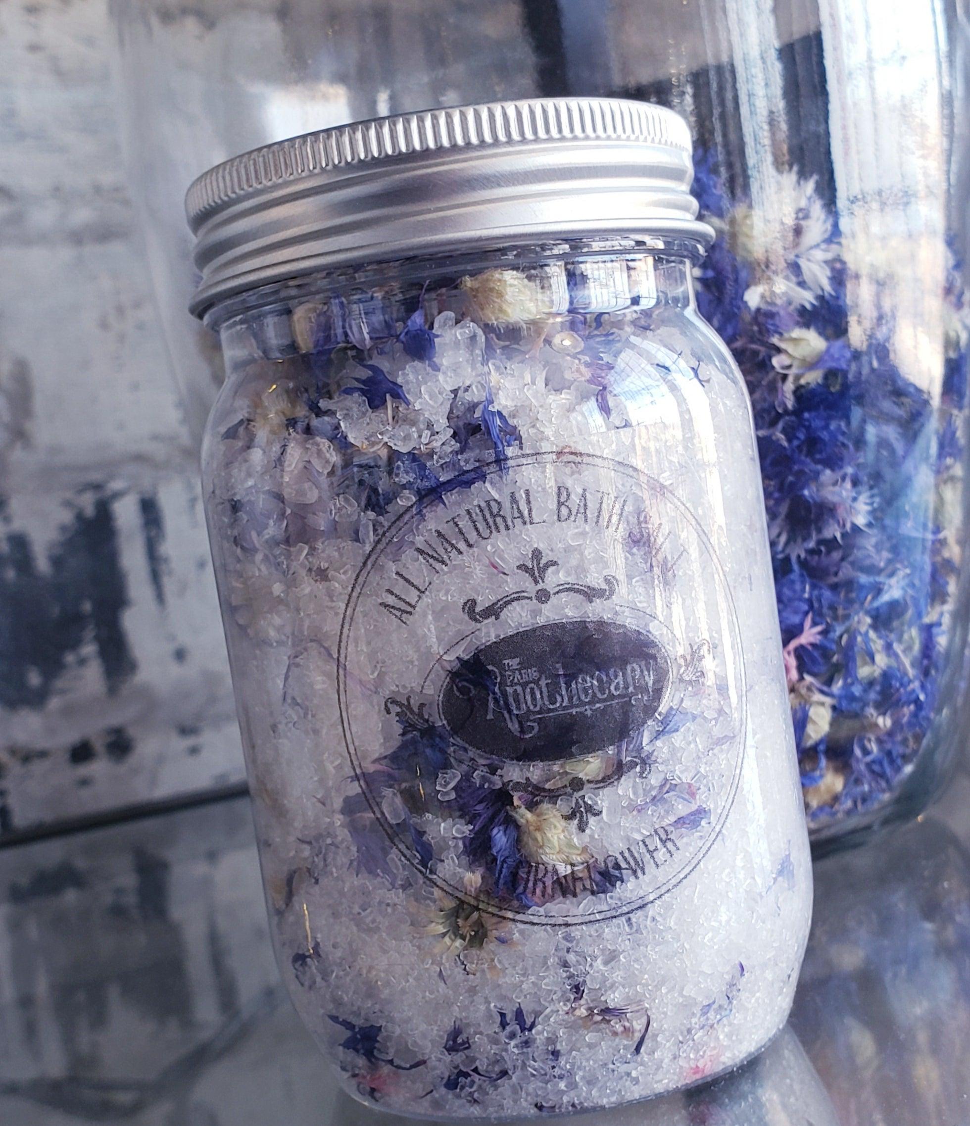 Cornflower Bath Salt