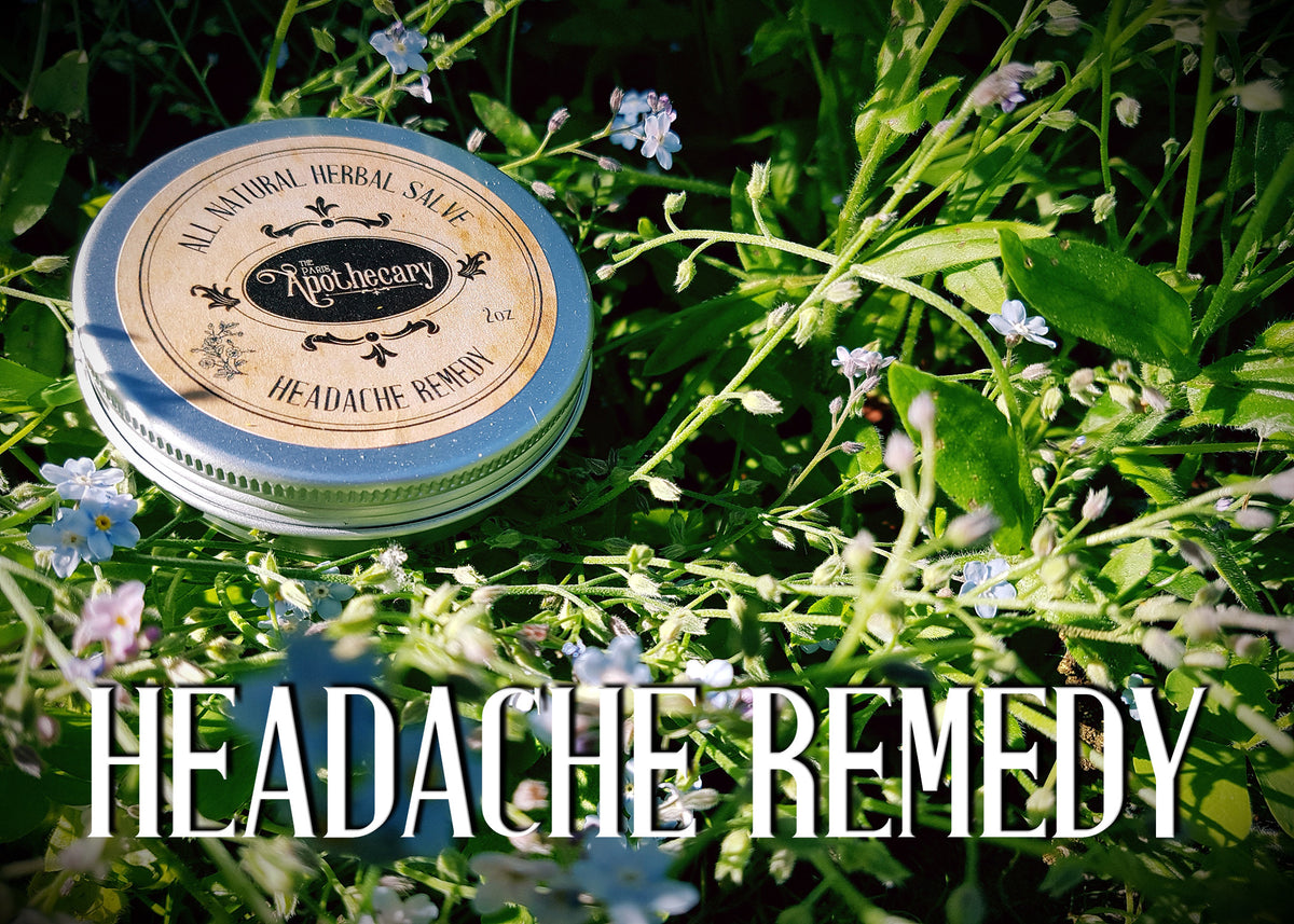 Headache Remedy Salve - 2oz