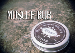 Muscle Rub Salve