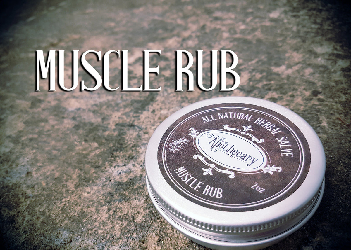 Muscle Rub Salve - 2oz