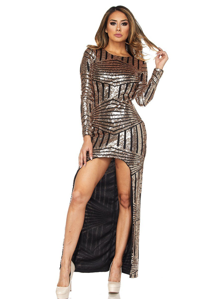 Shine With Me Dress - Dime Piece Clothing