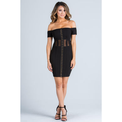 Angelica On Cloud Nine Dress - Dime Piece Clothing