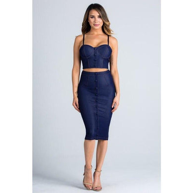 Bella Hamptons Midnight Set - Dime Piece Clothing