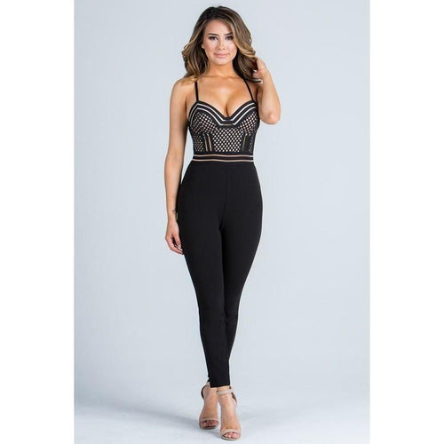 Chanel All Eyes On Me Jumpsuit - Dime Piece Clothing