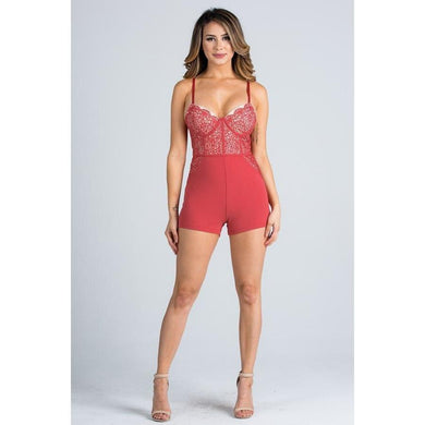 Destiny Desire Romper - Dime Piece Clothing