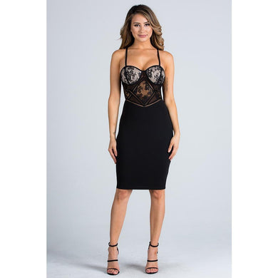 Diamond Girl Dress - Dime Piece Clothing