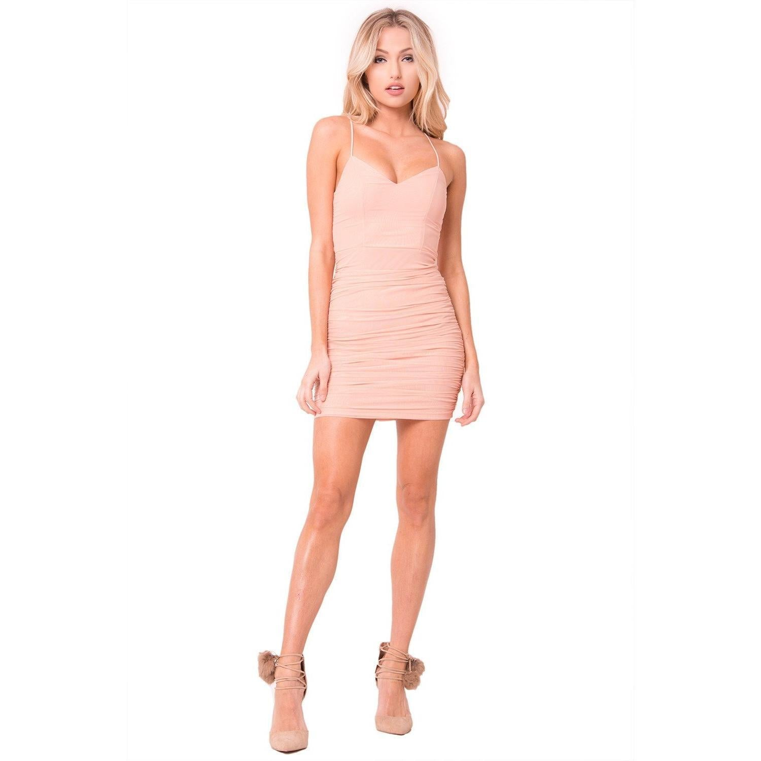 Farrah Bad Habit Dress - Dime Piece Clothing