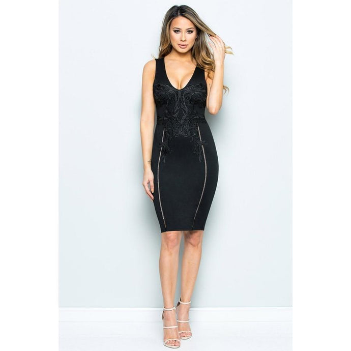 Jade It's Not Over Dress - Dime Piece Clothing