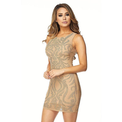 Mariah Glam Me Up Dress - Dime Piece Clothing