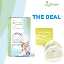 Combo Kit ~ 1 Lacticups Essentials (set) with Plugs and 1 Set of The Originals Lacti-Cups