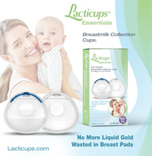 Lacti-Cups® Essentials Breastmilk Collection Cups ~ STOPPERS-Plugs INCLUDED~ Nursing Cups for Breastfeeding