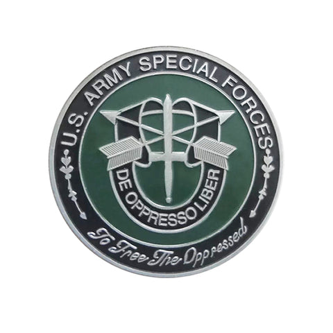 United States Army Special Forces De Oppresso Liber challenge coin Collectible