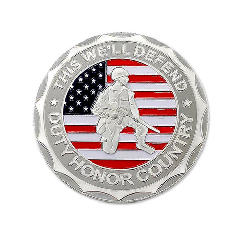 US Military ARMY VETERAN Proudly Served Challenge coin Commemorative Collectible