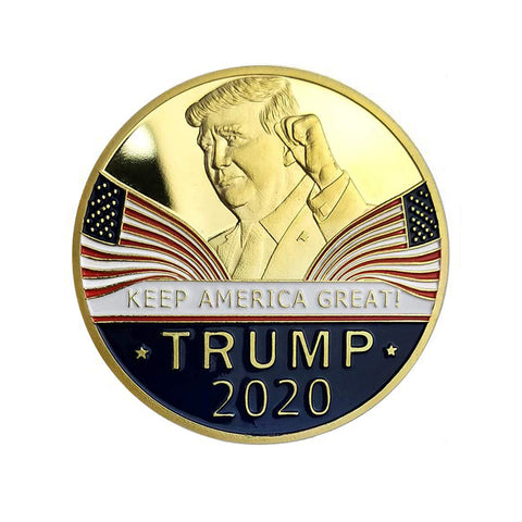 Donald Trump 2020 Keep America Great Commemorative Challenge Eagle Coins