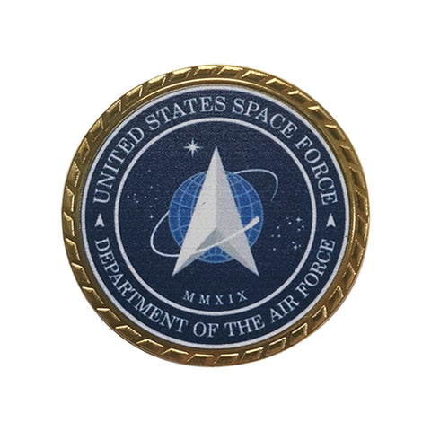 United States Of America Space Force/Command Air Force Challenge Coin