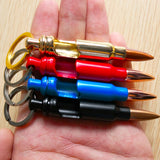 0.308 Caliber Keychain Bullet Bottle Opener, 4 pcs Set, Blue,Red,Golden,Black