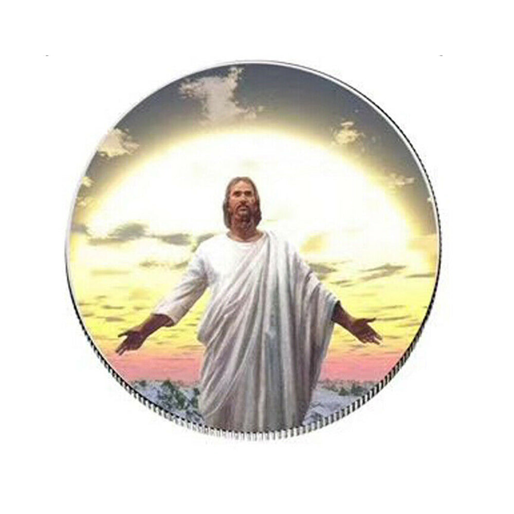 NEW Jesus Christian worship pray bless Coin Commemorative Art Collection Gifts