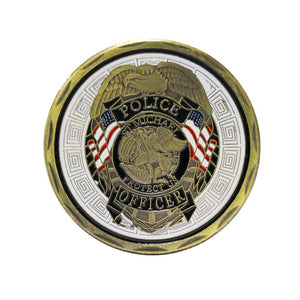 St Michael Police Officer Badge Law Enforcement Challenge Collectible Coin