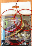 AURORA STRING SET FOR TURKISH STRING INSTRUMENT SHORT NECK SAZ  0.18 MM - unosell music instruments