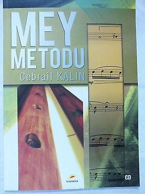 MEY METHOD MEY METODU BY CEBRAIL KALIN FOR TURKISH STRING INSTRUMENT WITH CD NEW - unosell music instruments