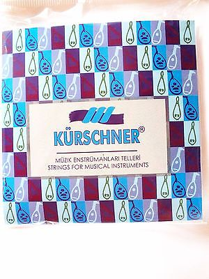 PREMIUM  CARBON PVF STRINGS SET FOR ARAB OUD ARAB2 KURSCHNER !!!!!!!!! - unosell music instruments
