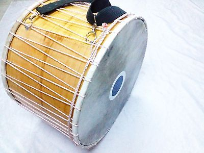 "22 "" TURKISH  PERCUSSION  DRUM DAVUL ANIMAL SKIN NEW - unosell music instruments"