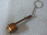 TURKISH WOODEN HAND MADE KEYCHAIN CUMBUS ANAHTARLIK NEW ! - unosell music instruments
