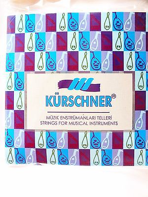 PREMIUM  CARBON PVF STRINGS SET FOR ARAB OUD ARAB1 KURSCHNER !!! - unosell music instruments