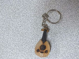 TURKISH WOODEN HAND MADE KEYCHAIN OUD UD ANAHTARLIK NEW ! - unosell music instruments
