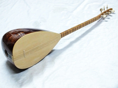 TURKISH MAHOGANY SHORT NECK  SAZ BAGLAMA  With FREE CASE NEW !!!!!!!!! - unosell music instruments