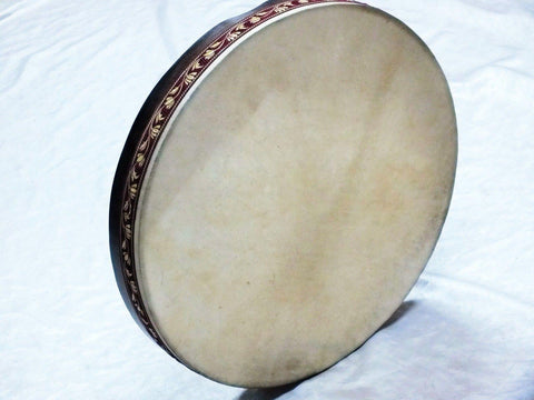 "AYOk :: 21 ""  GOAT SKIN FRAME DRUM BENDIR  With CASE NEW !!!!!!!!!!!!!!!!!! - unosell music instruments"
