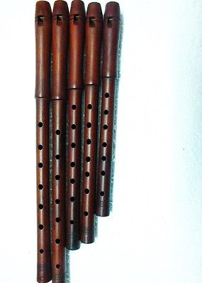 Turkish Good Quality  Plum Wood Dilli KAVAL TUTEK Shivi Flute  (Single) NEW !!!! - unosell music instruments