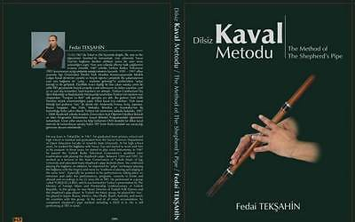 THE METHOD OF THE SHEPHERD' S PIPE  DILSIZ KAVAL METODU IN ENGLISH W/ DVD NEW - unosell music instruments