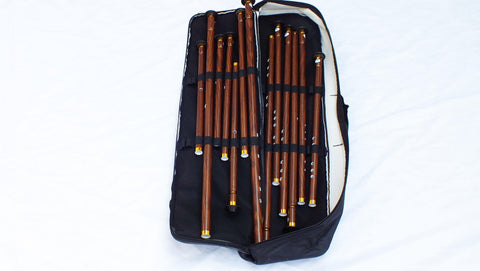 Turkish Woodwind Plastic Nay Ney Set Total 13 - Unosell Muzik Enstrumanlari