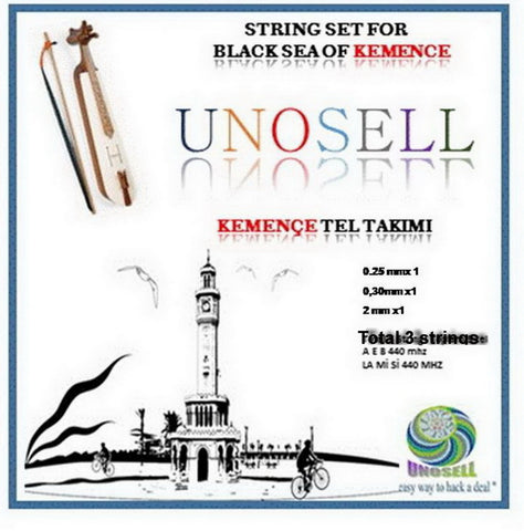 STRING SET FOR TURKISH STRING INSTRUMENT  THE KEMENCE OF THE BLACK SEA - unosell music instruments