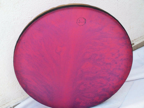 "BARF :: 21 "" FRAME DRUM BENDIR, DAF ,ERBANE With CASE by Master Sami - unosell music instruments"