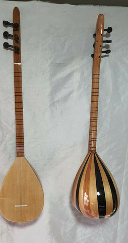 Turkish String Small Size Cura Saz  With  Free Case