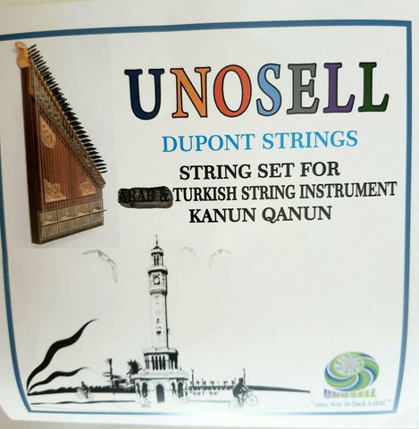DUPONT STRING SET FOR TURKISH KANUN QANUN NEW