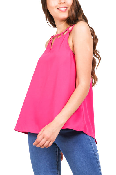 Front Cut Out Top